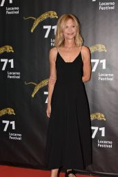 Meg Ryan - Awarded With The Leopard Club Award at the Locarno Festival 2018