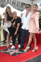 Melanie Brown - Simon Cowell Honored With a Star on the Hollywood Walk of Fame in LA 08/22/2018