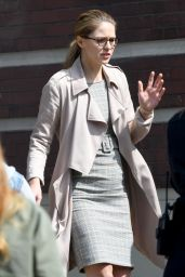 "Melissa Benoist - ""Supergirl"" Set in Vancouver 08/30/2018"