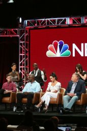 "Melissa Fumero - ""Brooklyn Nine-Nine"" TV Show Panel at 2018 TCA Summer Press Tour in LA"