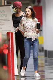 Mila Kunis - Leaving an LA Area Hospital in Beverly Hills 08/29/2018