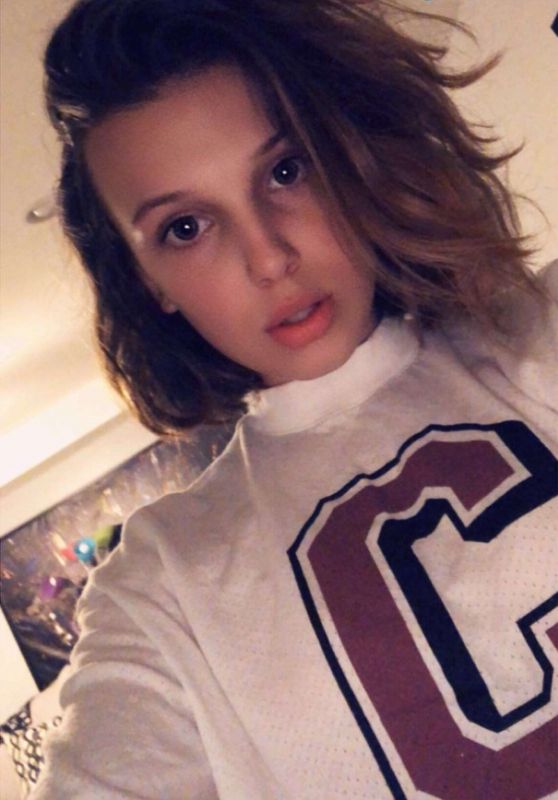 Millie Bobby Brown - Social Media 08/10/2018