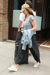 Minka Kelly at the Greenwich Hotel in New York 08/20/2018