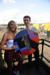 Mollie King at BBC Radio One Stage in Reading 08/25/2018