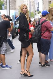 Nadine Leopold at Sirius Radios in NYC 08/22/2018