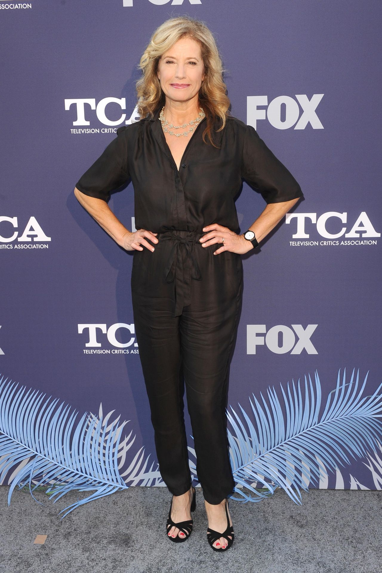 Nancy Travis - FOX Summer TCA 2018 All-Star Party in West Hollywood