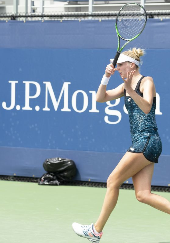 Naomi Broady – 2018 US Open Tennis championship in New York – Qualifying Day 1