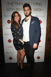 Nikki Sanderson – The Thomas Twins 30th Birthday Party in Manchester