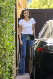 Nina Dobrev - Visit a Friends Home in West Hollywood 08/16/2018
