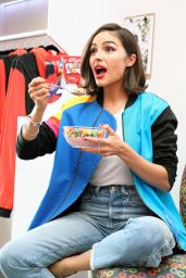 Olivia Culpo - Shops the AWAYTOMARS x Froot Loops Capsule Collection in NYC
