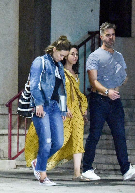 Olivia Wilde - Leaving a Popular Italian Restaurant in Los Feliz 08/21/2018