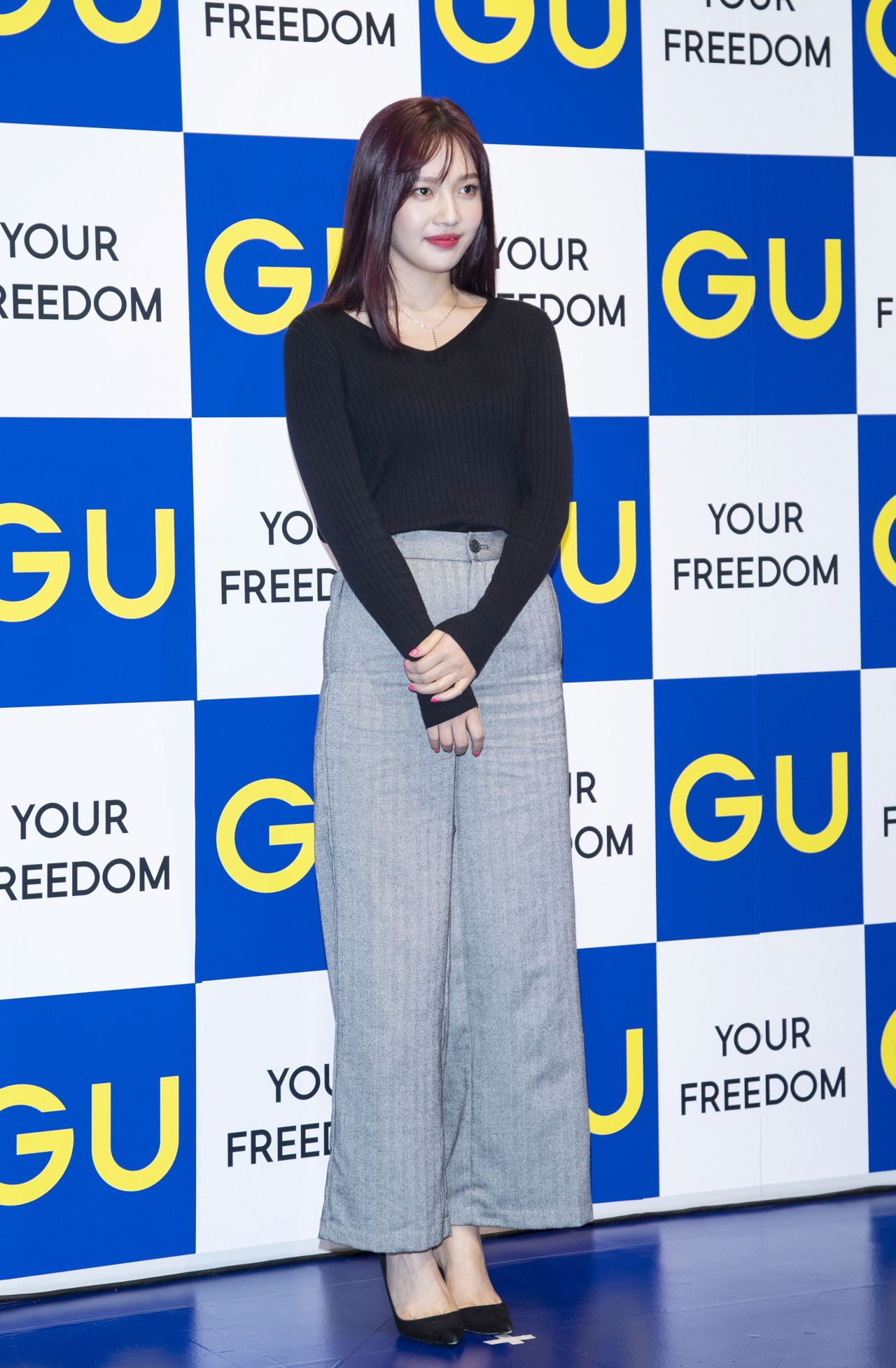 "Japanese Fashion Brand ""GU"" Photocall In"