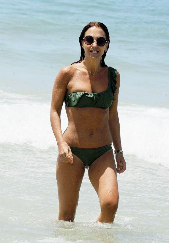 Paula Echevarria in Bikini at the Beach in Sancti Petri, July 2018