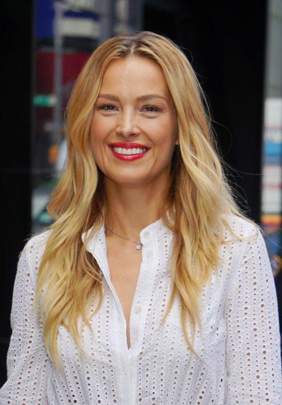 Petra Nemcova Stops by GMA in New York 08/22/2018