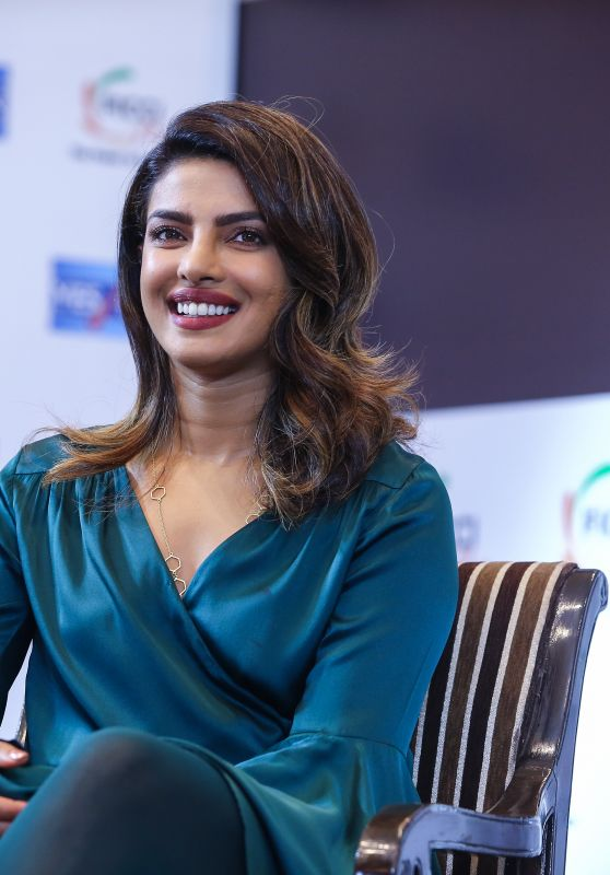 Priyanka Chopra - FICCI Event in New Delhi, August 2018