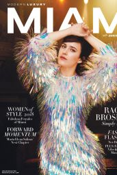 Rachel Brosnahan - Modern Luxury September 2018