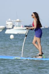 Retha Lethoko - Stand-Up Paddle Ride in Saint-Tropez 08/10/2018