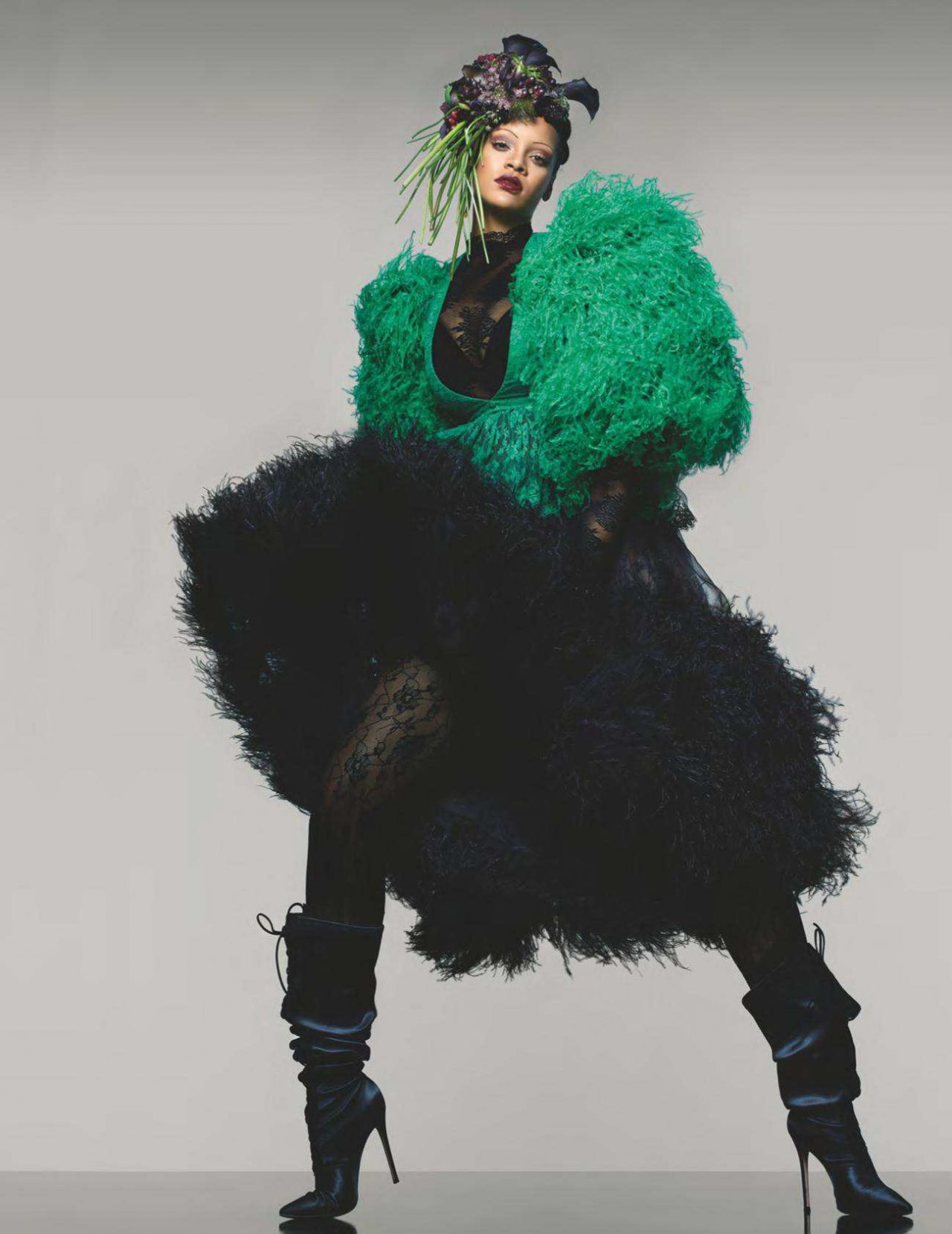 Vogue The Top Selling Fashion Magazine: Rihanna Latest Photos