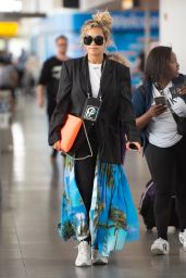 Rita Ora Arrives at JFK Airport in NYC 08/19/2018
