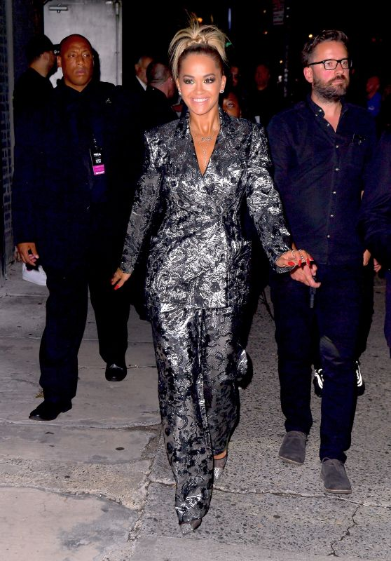 Rita Ora - Leaving the VMA Pre-Concert at Terminal 5 in New York 08/19/2018