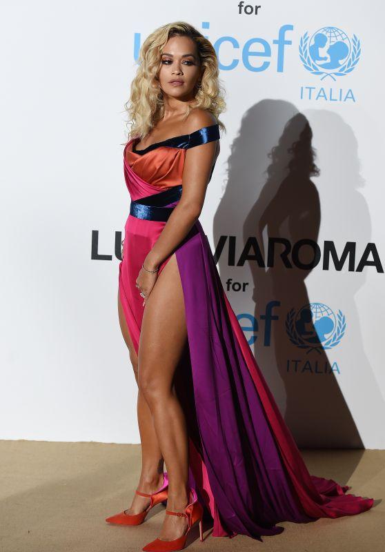 Rita Ora – UNICEF Gala in Porto Cervo 08/10/2018