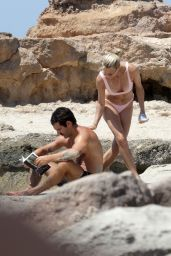 Robin Wright With Her Husband Clement Giraudet in Formentera 08/21/2018