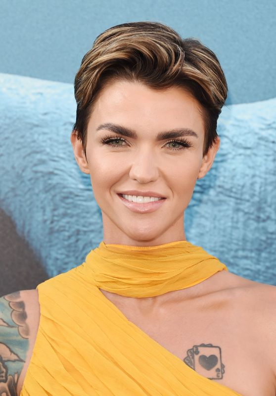 "Ruby Rose - ""The Meg"" Premiere in LA"