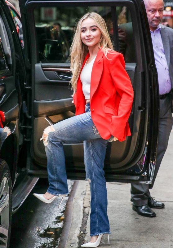 Sabrina Carpenter at Good Morning America Studios in New York City 08/20/2018