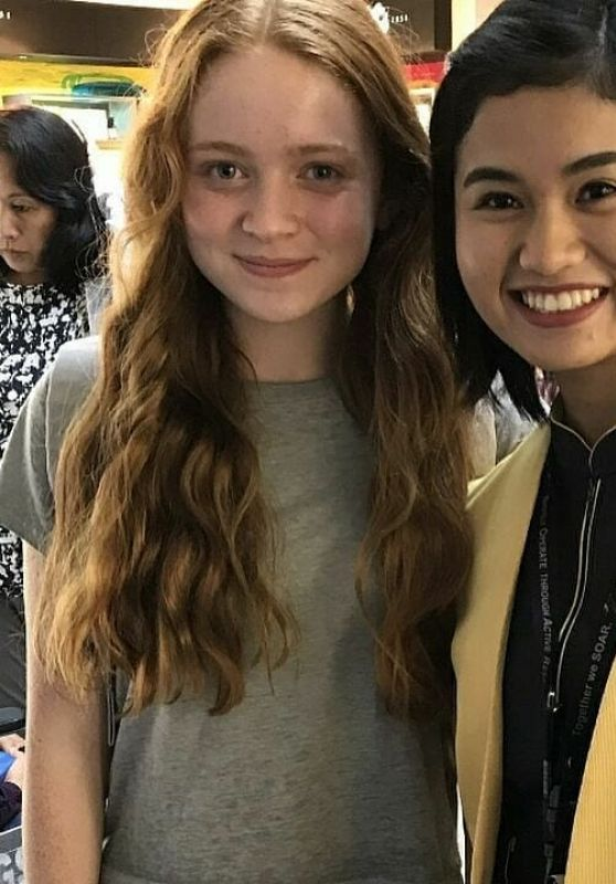 Sadie Sink - Personal Pics 08/31/2018