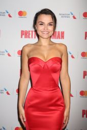"""Samantha Barks - """"Pretty Woman The Musical"""" Opening Night in New York 08/16/2018"""