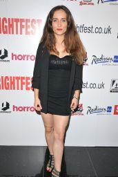"Samantha Schnitzler - ""The Black Site"" Premiere at Arrow Video FrightFest"