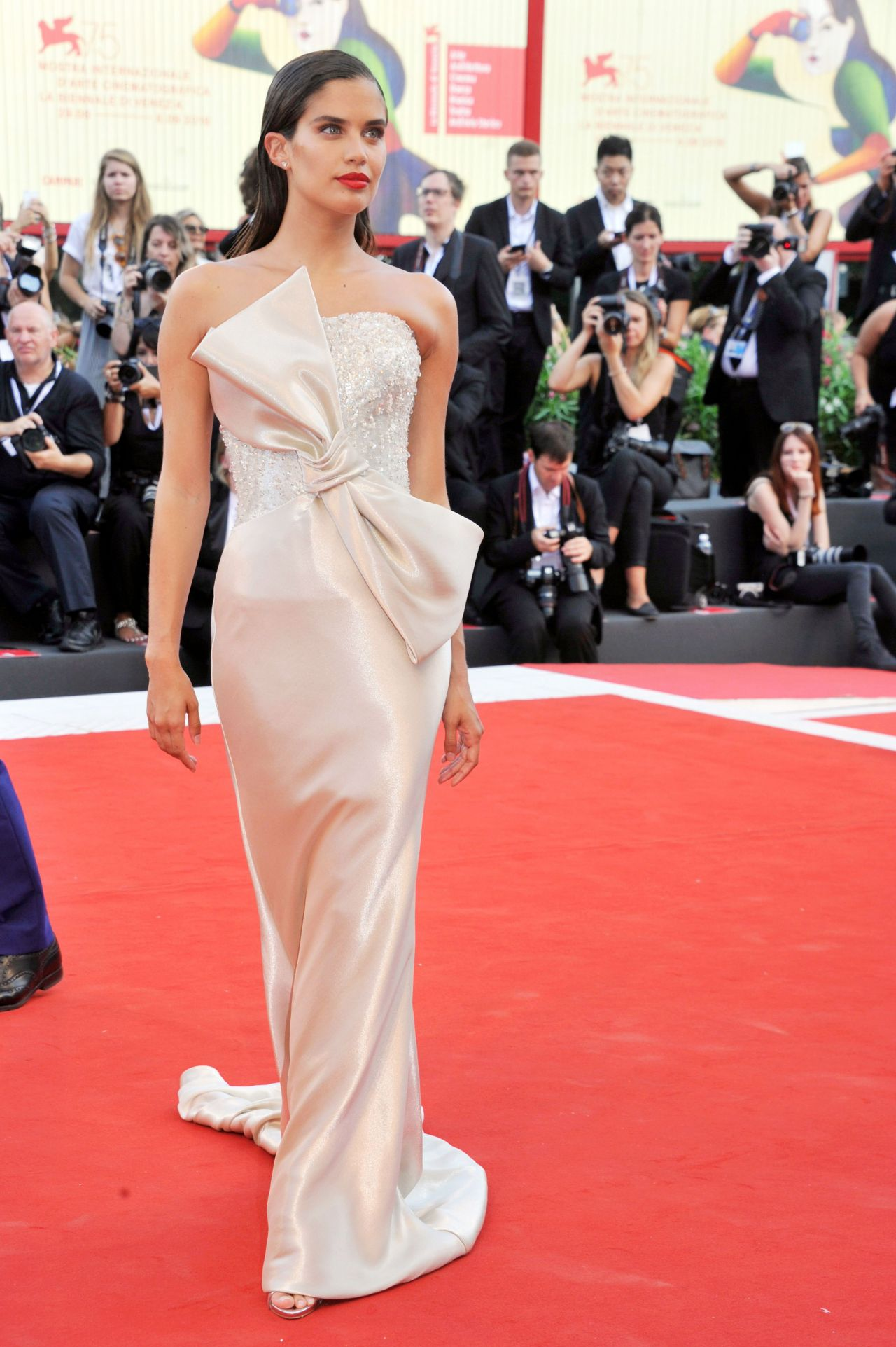 """Sara Sampaio – 2018 Venice Film Festival Opening Ceremony and """"First Man"""" Premiere"""