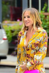 Sarah Jessica Parker - Photoshoot for Intimissimi in NYC 08/22/2018
