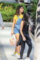 Selena Gomez at the Sheraton Hotel in Los Angeles 08/19/2018