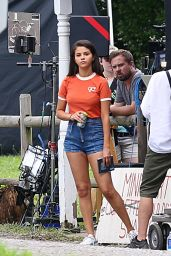 """Selena Gomez on the Set of """"The Dead Don"""