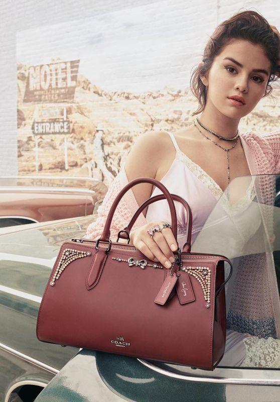 Selena Gomez - Selena Gomez x Coach Collection Fall 2018 Photos