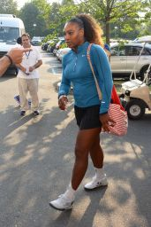 Serena Williams - Arrives at the 2018 US Open 08/27/2018