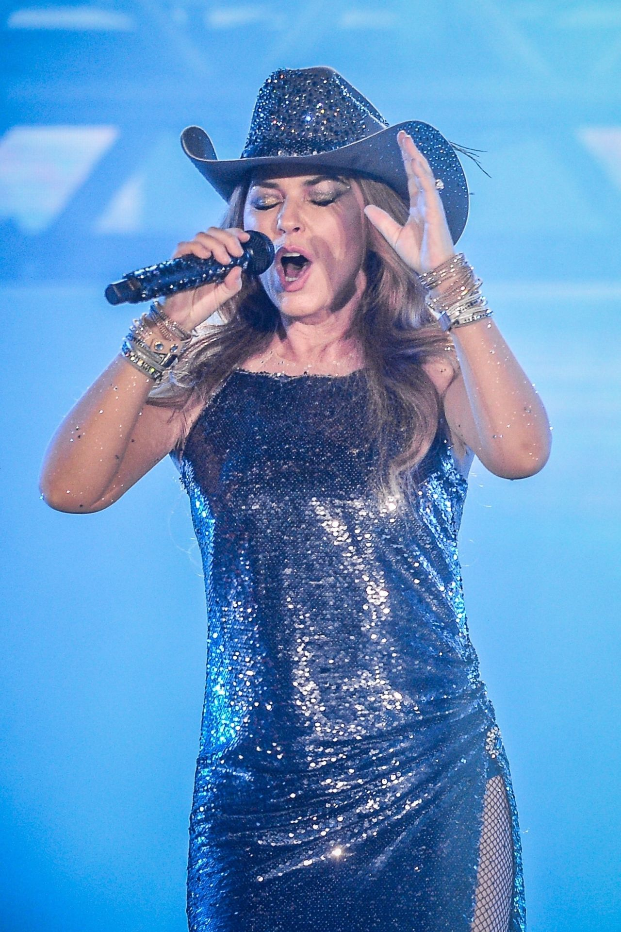 Shania Twain Performs At The Cowboy Festival Of Barretos