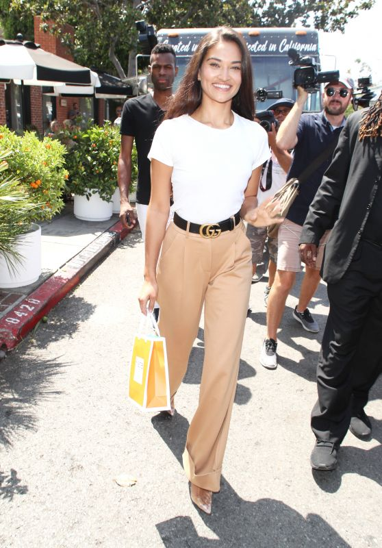 Shanina Shaik - Out in West Hollywood 08/17/2018