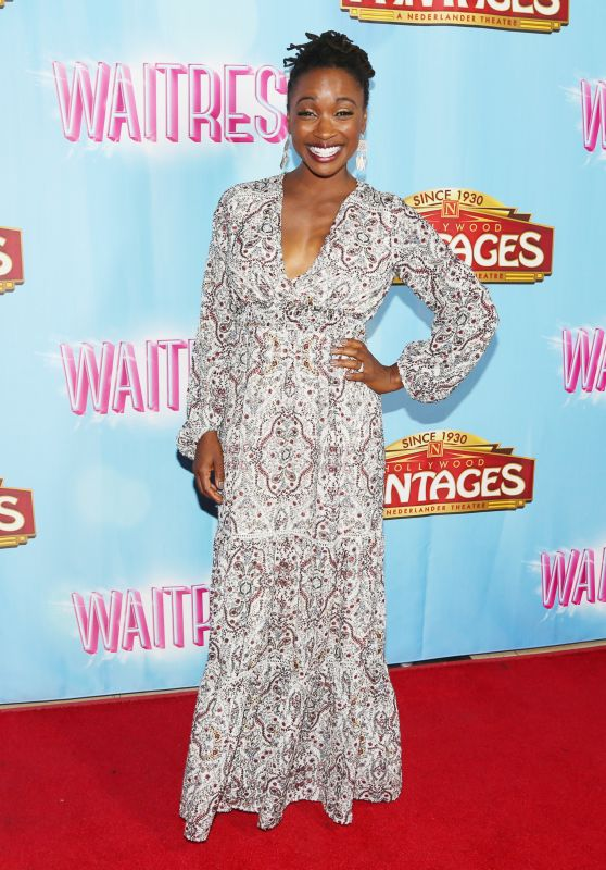 "Shanola Hampton - National Tour of ""Waitress"" at Hollywood Pantages Theatre"