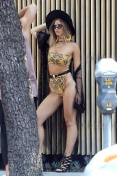 Shauna Sexton - Bikini Photoshoot on the Streets of West Hollywood 08/19/2018