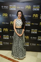 Shradha Kapoor - Launch of the First LED Screen Cinema Onyx in New Delhi
