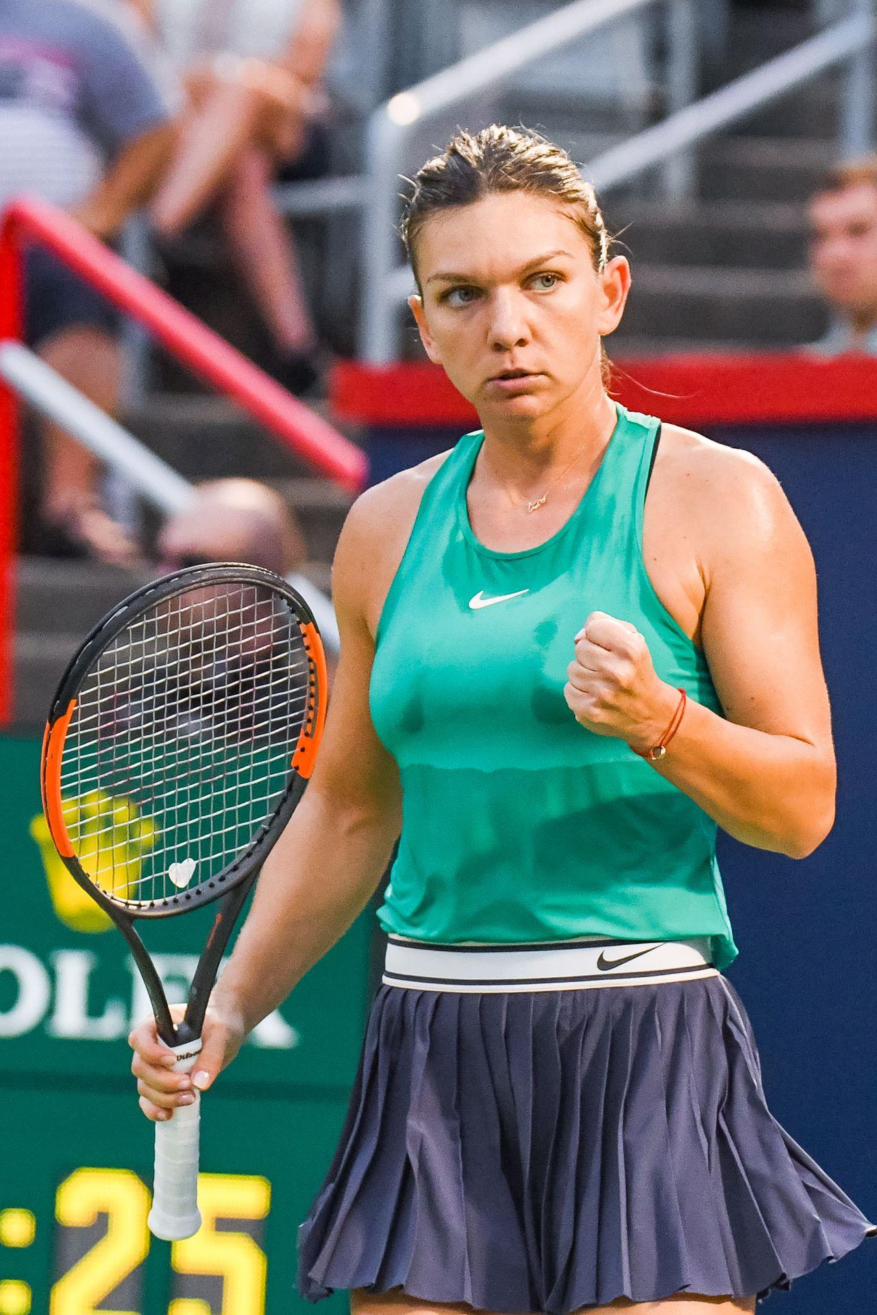 Simona Halep destroys Serena Williams in Wimbledon final ...  |Simona Halep