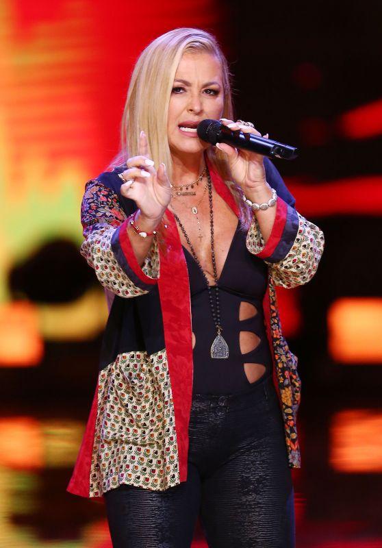 Singer Anastacia - Top of the Top Sopot Festival in Poland 08/15/2018