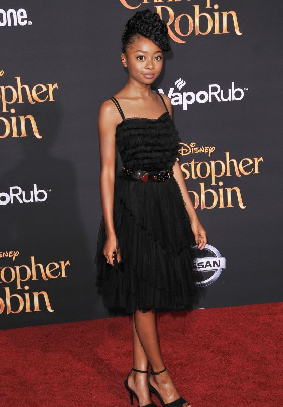 "Skai Jackson – ""Christopher Robin"" Premiere in LA"