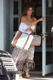 Sofia Vergara - Shopping at a Baby Clothing Store in Beverly Hills 08/17/2018