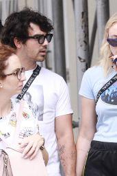 Sophie Turner and Joe Jonas in New York City 07/31/2018