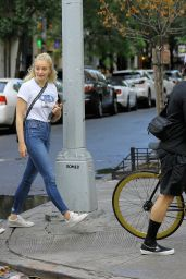 Sophie Turner - Running Errands in NY 08/14/2018