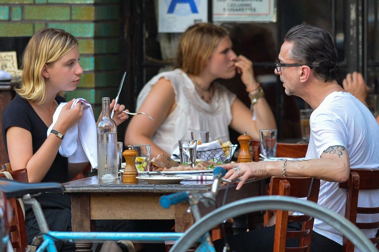 Stella Rose Gahan and Dave Gahan in Downtown Manhattan 08 ...