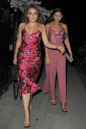 Tallia Storm and Emily Canham - Out in London 08/21/2018